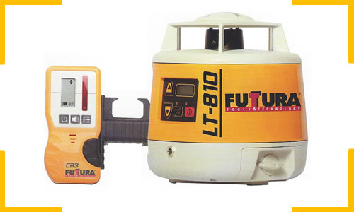 Futura LT-810 automatic true self-leveling single slope laser for sale at Paul R. Lipp & Son, Inc.