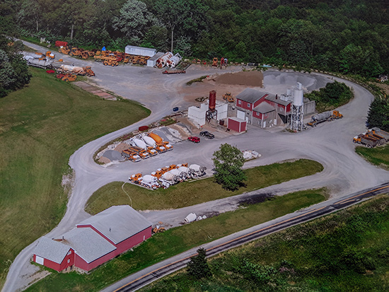 Ready Mix Concrete, Excavating Services, And Construction
